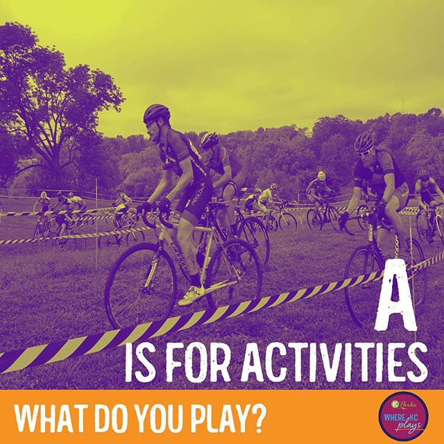 "July is National Parks and Recs Month! Celebrate playing with us each week during the month of July with a new theme. This week's theme is ""A is for Activities"". What do you play? #DiscoverJuly #KCParks #WhereKCPlays"