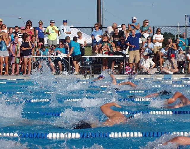 The Nations's Largest Summer Swim Championships are in #KCMO! The Northland Swim Conference Championships Happening Now at The Springs Aquatics Center. ‍♂️ #DiscoverJuly #KCParks #WhereKCPlays