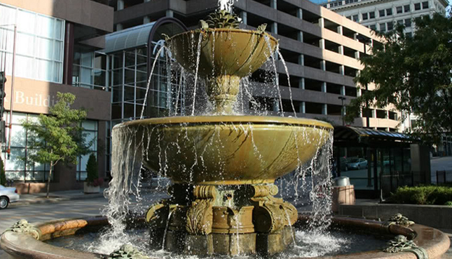 William T. and Charlotte Crosby Kemper Memorial Fountain