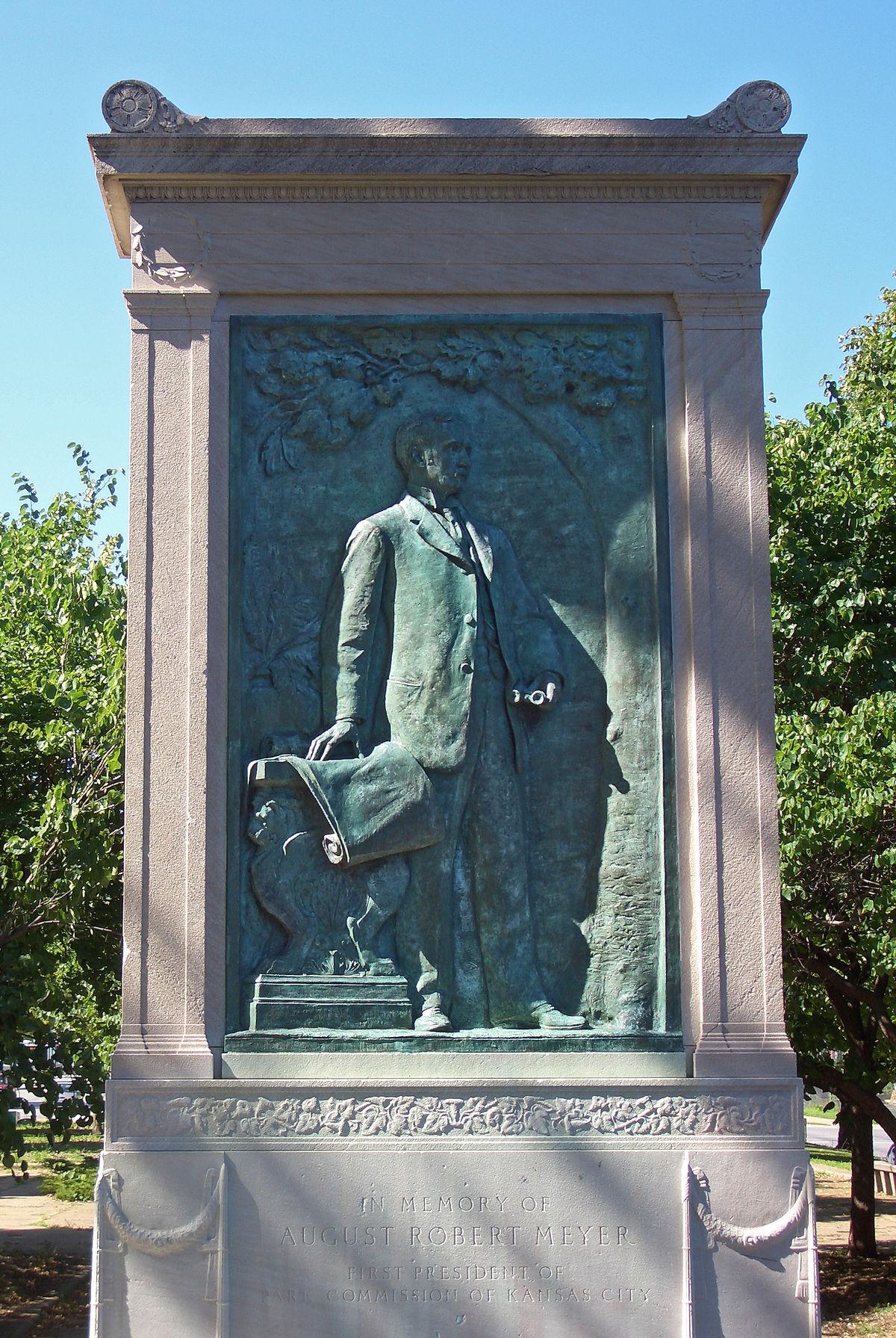 August Robt Meyer memorial Kansas_City
