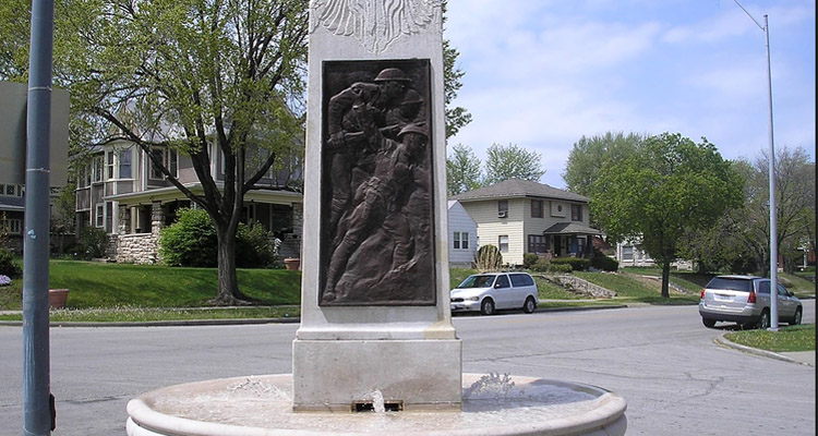 American Legion Memorial Drinking Fountain