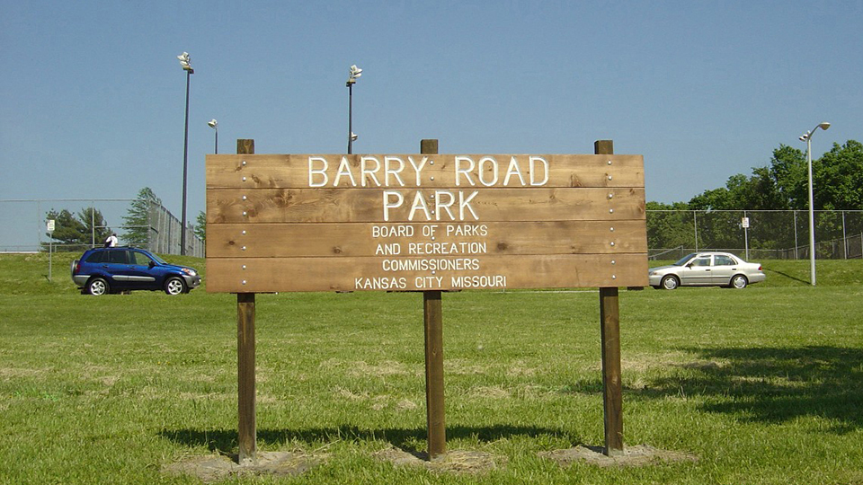 Barry Road Park Trail