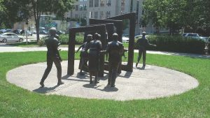 Individuals statues