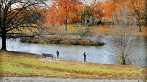 Chaum Lake in the fall