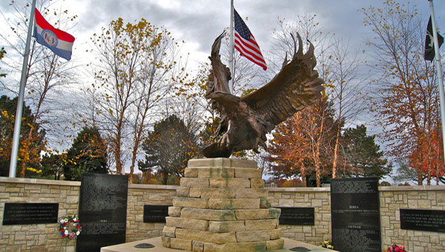 Clay County Veterans Memorial: Sovereign Wings