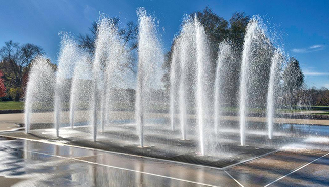The Concourse Fountain