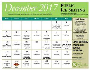Dec. 2017 Public Calendar