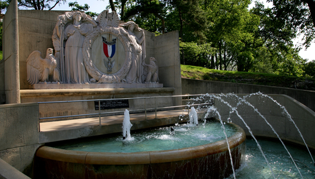 Eagle Scout Memorial Fountain