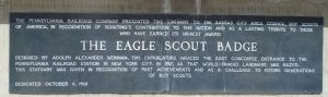 The Eagle Scout Badge
