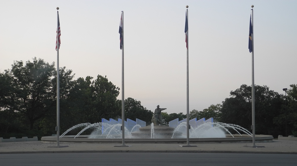 Firefighters Memorial Fountain