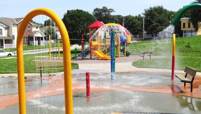 Garrison Square Sprayground Kc Parks And Rec