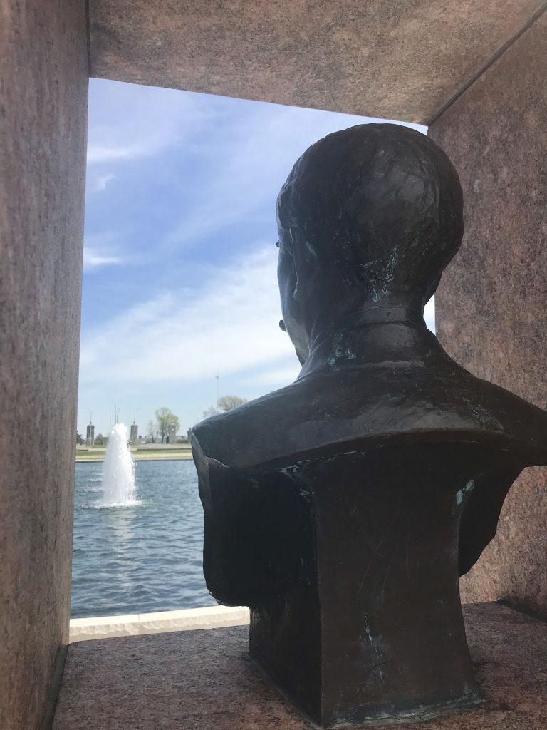 Delbert J. Haff Circle Fountain