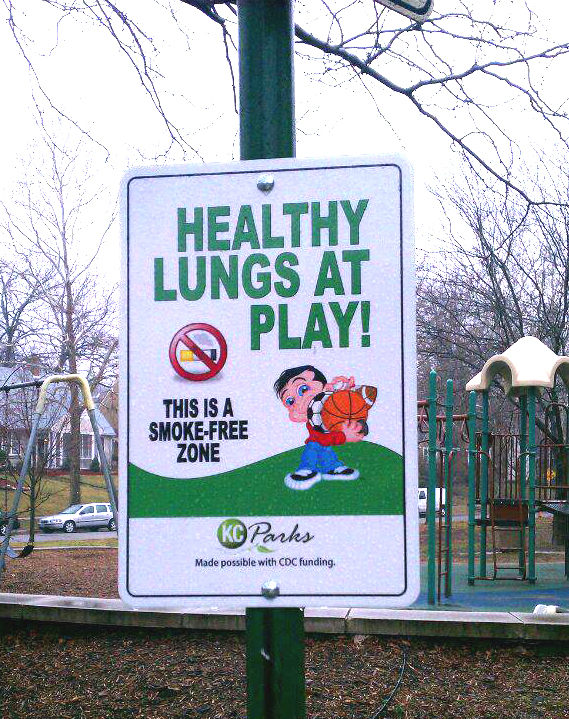Board Approves Policy to Discourage Smoking in KC Parks