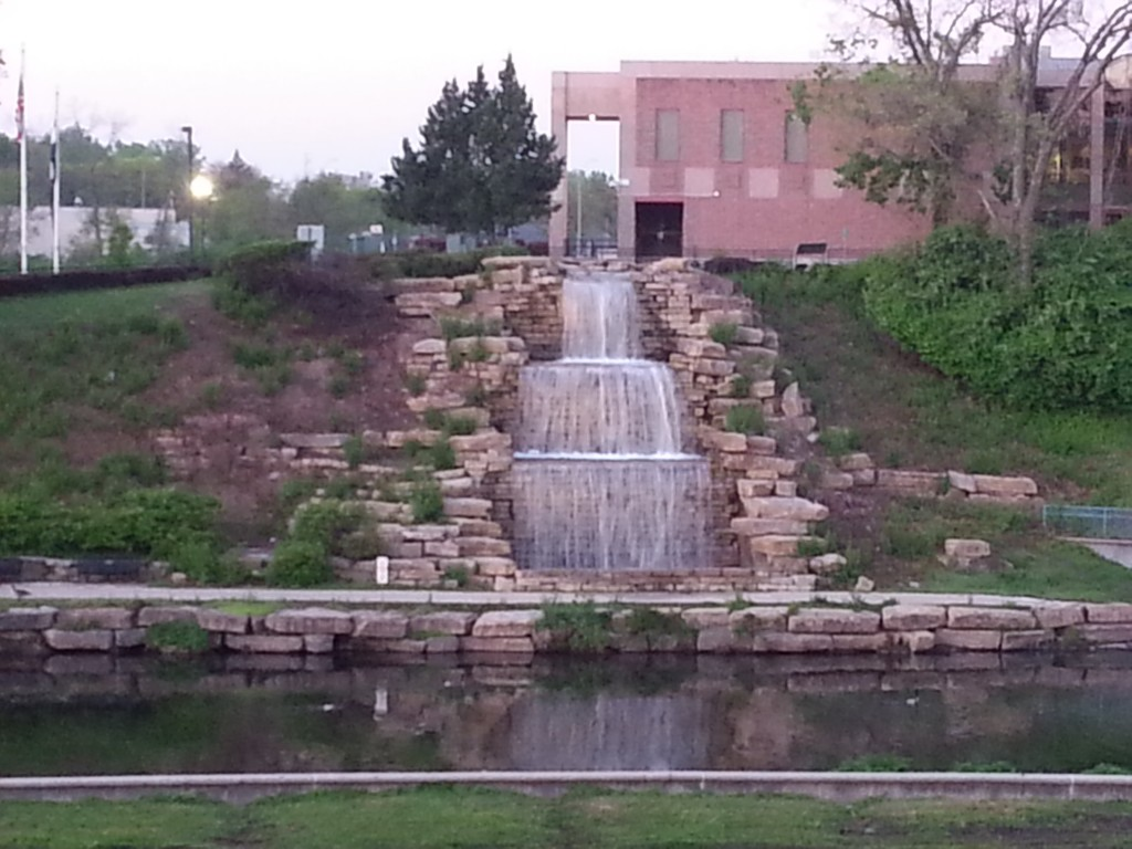 Hillside Fountain