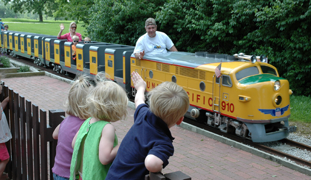 Parks Spotlight: KC Northern Miniature Railroad