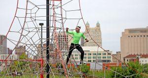 individual rope climbing
