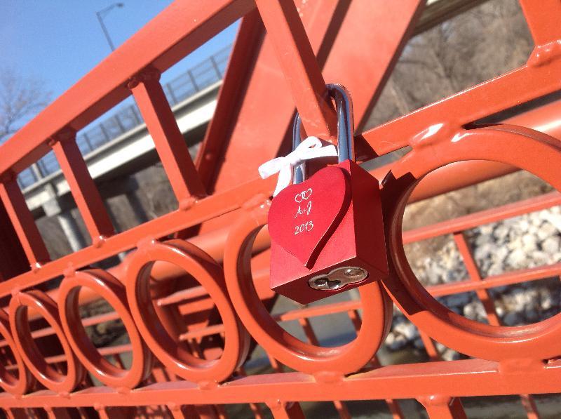 Parks Spotlight: Red Bridge Love Locks