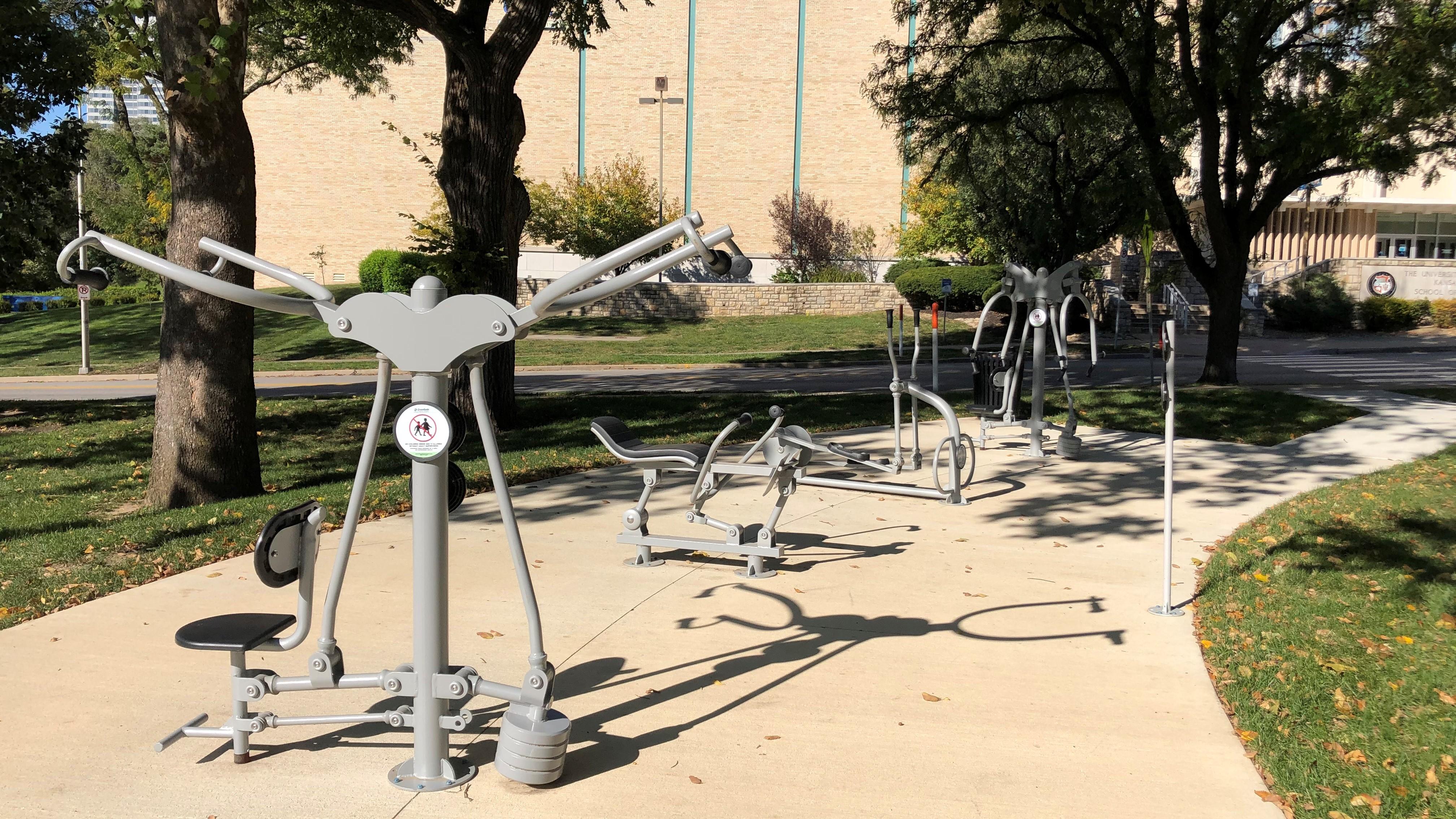 Longfellow Park Exercise equipment