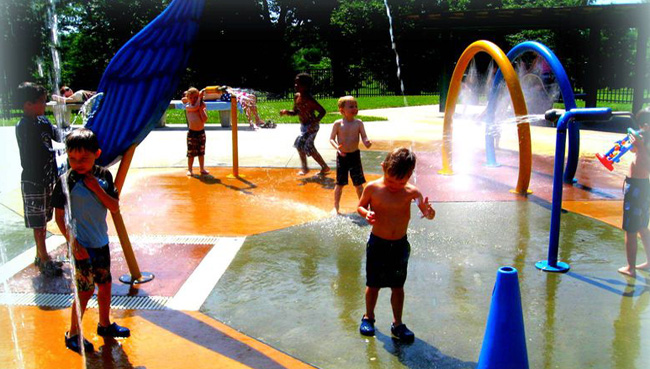 Loose Park Sprayground Kc Parks And Rec