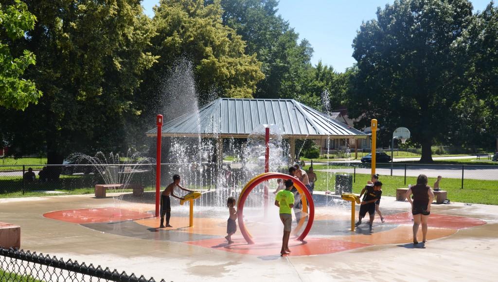 Lykins Square Sprayground: CLOSED