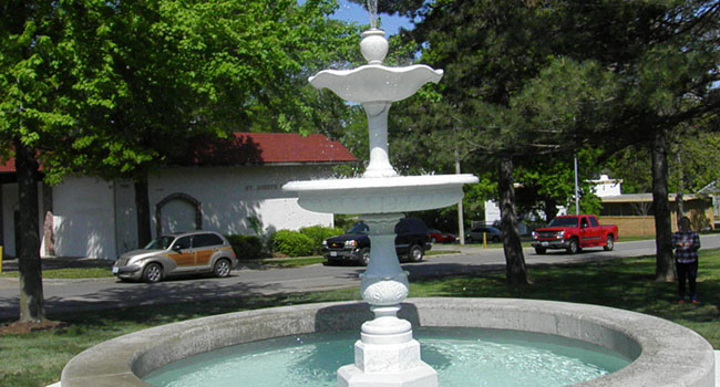 Marlborough Plaza Fountain