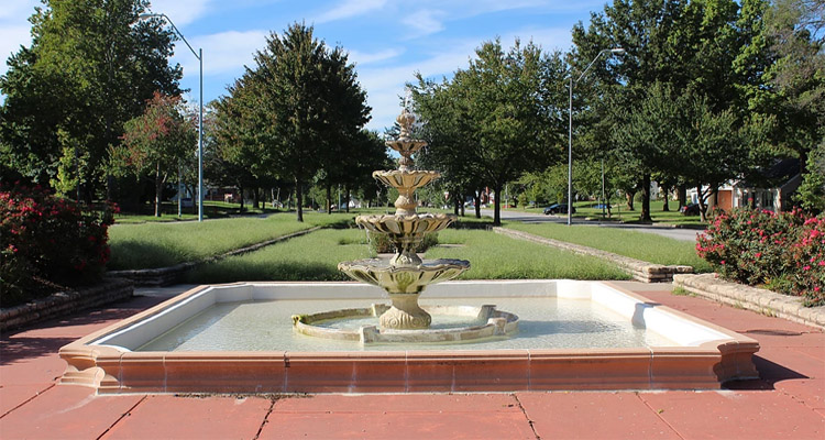 Harold D. Rice Fountain