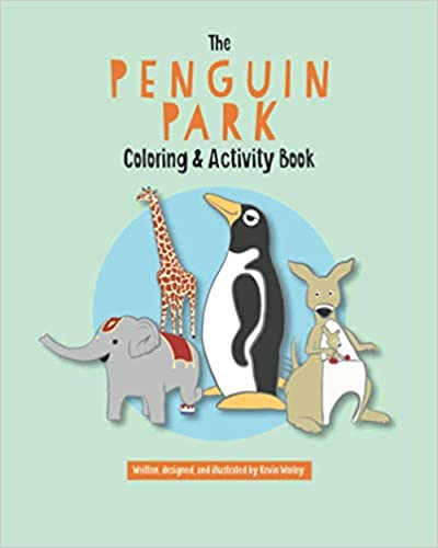 Penguin Park Coloring & Activity Book Now Available