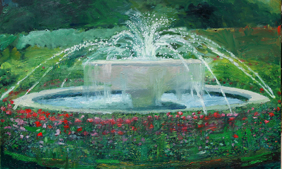 Buy a Painting- Save a Fountain