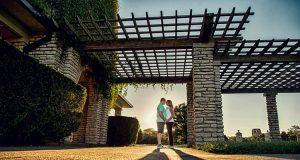 Romantic Couple Landscape Image