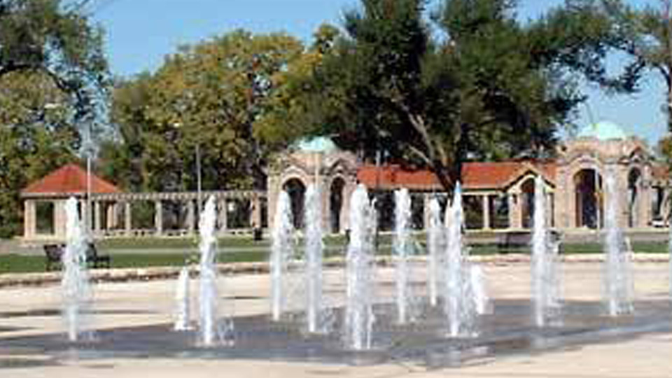 the concourse fountain kc parks and rec