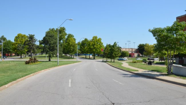 Dr. Martin Luther King Jr. Blvd. (formerly The Paseo)