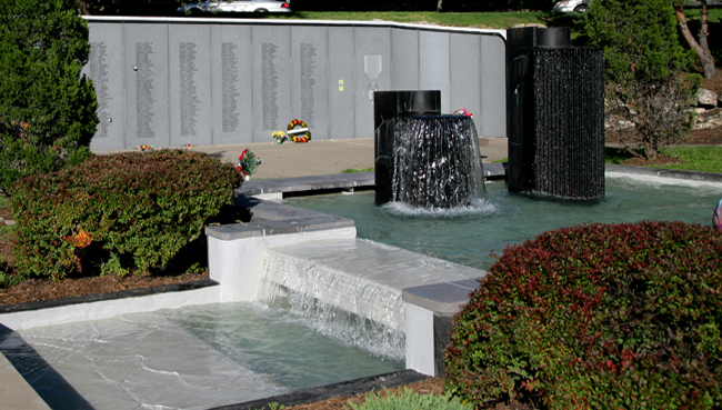 Vietnam Veterans' Memorial Fountain