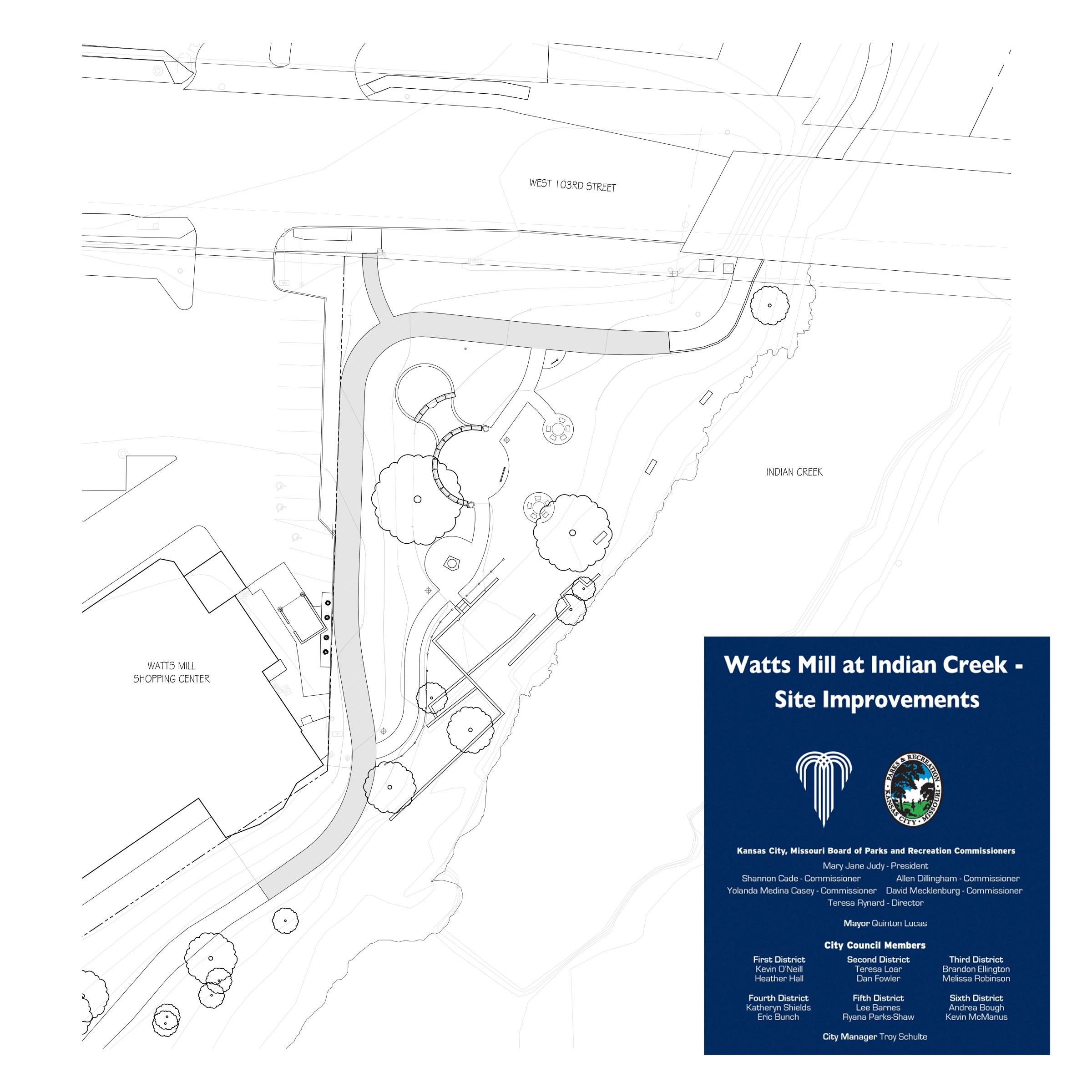 Watts Mill at Indian Creek Map