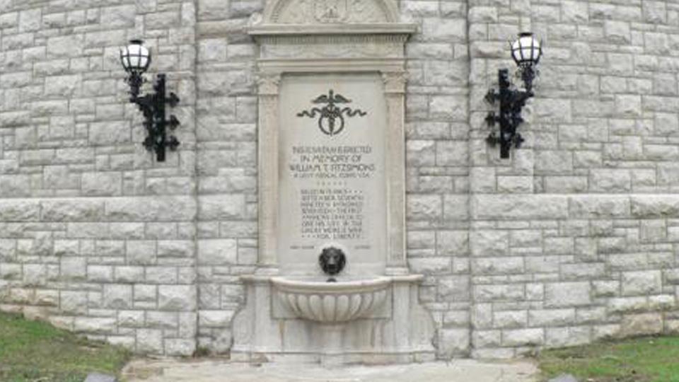 William T. Fitzsimons Memorial Fountain