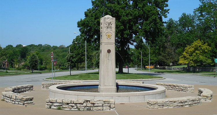 American War Mothers Memorial Fountain