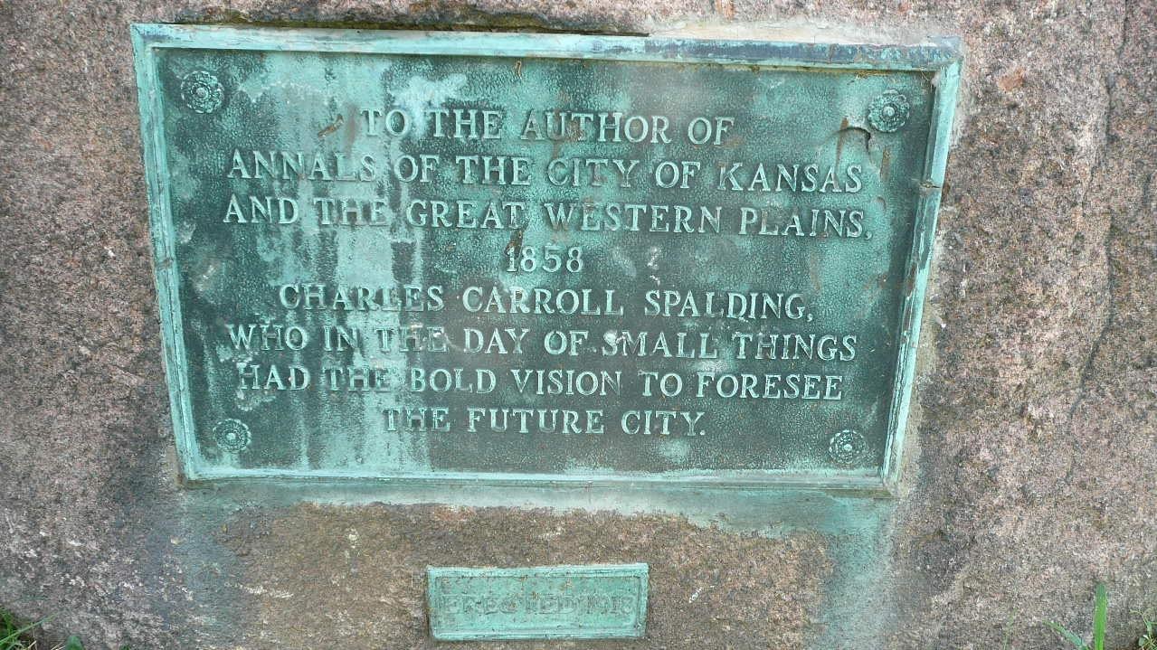 Charles Carroll Spalding Marker