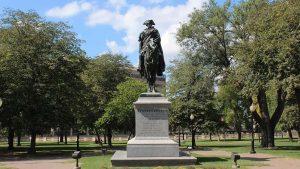 Man on horse Statue