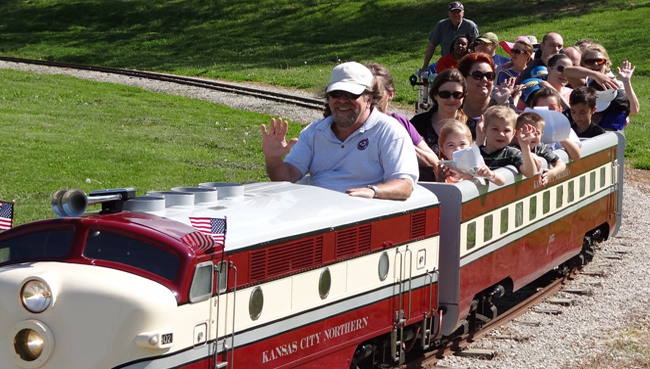 Kansas City Northern Miniature Railroad