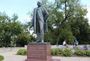Jacob L Loose statue