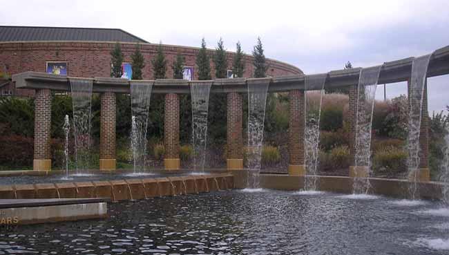 Shirley Bush Helzberg Fountain