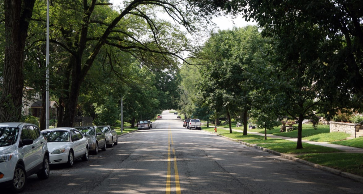 Harrison Boulevard Bikeway