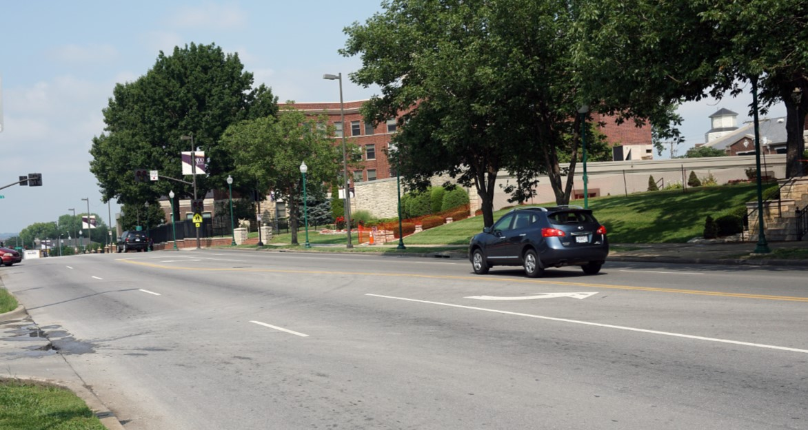 Independence Boulevard Bikeway