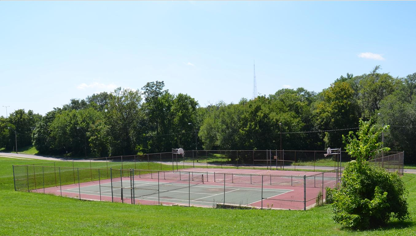 Nelson C. Crews Square Tennis Courts