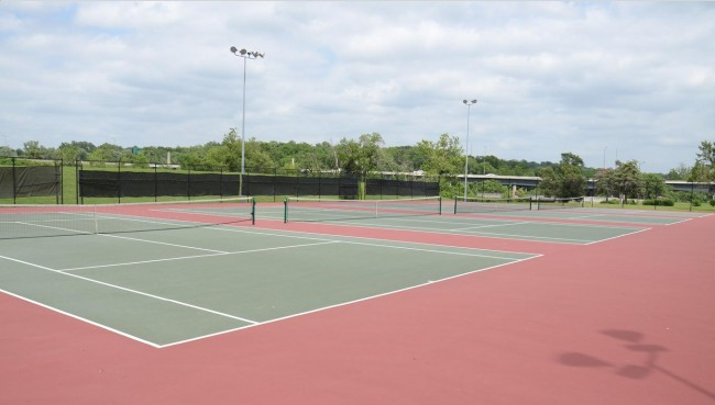 Martin Luther King, Jr. Square Tennis Courts