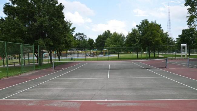 Sheila Kemper Dietrich Park Tennis Courts