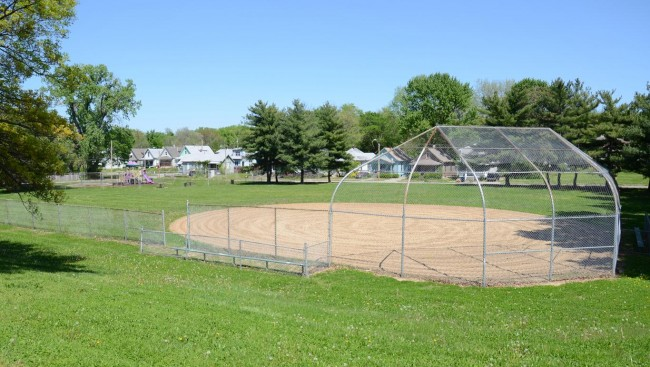 Indiana Park Ball Diamond