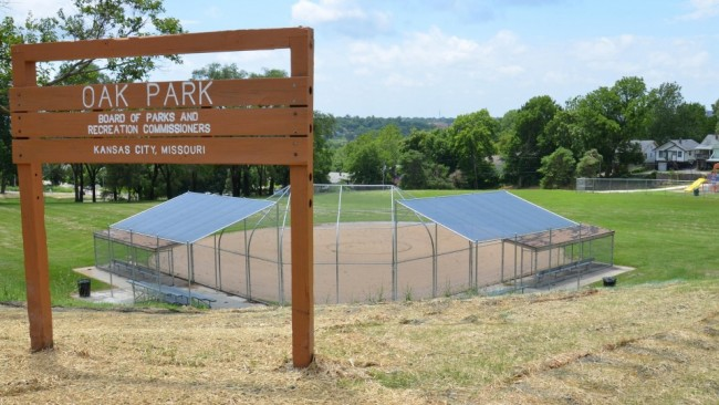 Oak Park Ball Diamond