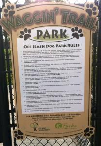 Waggin Trail Rules