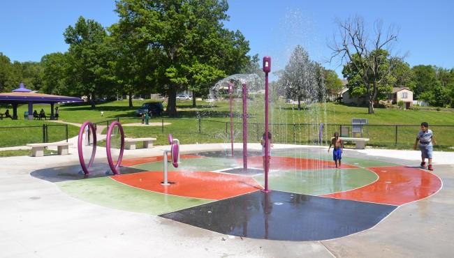 Seven Oaks Park Sprayground
