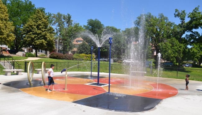 Spring Valley Park Sprayground